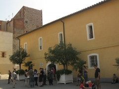 Ancien couvent des Minimes - Català: Convent dels Mínims (Perpinyà), exterior