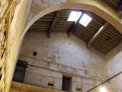 Ancien couvent Sainte-Claire - Català: Convent de Santa Clara (Perpinyà), arc de diafragma a l'antiga església, convertida durant la Revolució en presó