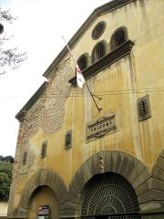 Ancien couvent Sainte-Claire - Català: Convent de Santa Clara (Perpinyà), façana de l'antiga església, convertida durant la Revolució en presó