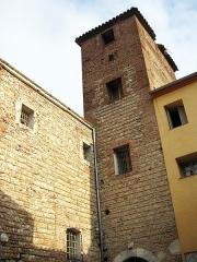 Ancien couvent Sainte-Claire - Català: Convent de Santa Clara (Perpinyà), campanar