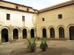 Ancien couvent Sainte-Claire - Català: Convent de Santa Clara (Perpinyà), detall del claustre