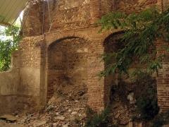 Ancienne église des Carmes - Català: Convent del Carme (Perpinyà), ruïnes de les dependències, ocupades durant segles per l'Arsenal