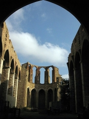 Ancienne église des Carmes - Català: Església del Carme (Perpinyà), ruïnes de la nau gòtica