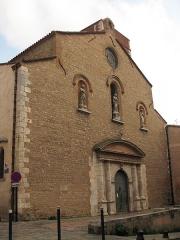 Eglise Notre-Dame de la Réal - Català: Església de Santa Maria de la Real (Perpinyà)
