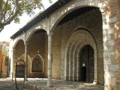 Eglise Saint-Jacques - Català: Església de Sant Jaume (Perpinyà), pòrtic d'entrada
