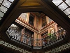 Ancien Hôtel Pams - Català: Casa Pams (Perpinyà), galeria superior del vestíbul