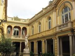Ancien Hôtel Pams - Català: Casa Pams (Perpinyà), pati