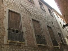 Maison - Català: Casa Julià (Perpinyà), balcons a la façana del carrer de les Fàbriques d'en Nabot