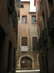 Maison - Català: Casa Julià (Perpinyà), la façana del carrer de les Fàbriques d'en Nabot vista des del carrer de Lazare Escarguel