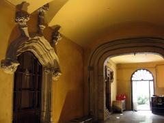 Maison dite Casa Xanxo - Català: Casa de Bernat Xanxo (Perpinyà), vestíbul