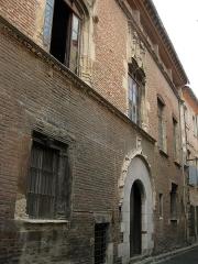 Maison dite Casa Xanxo - Català: Casa de Bernat Xanxo, al carrer de la Mà de Ferro (Perpinyà)