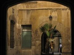 Ancien palais de justice - Català: Palau de la Generalitat o de la Diputació, a Perpinyà; detall del pati