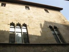 Ancien palais de justice - Català: Palau de la Generalitat o de la Diputació, a Perpinyà; façana que dóna al carrer de la Barra