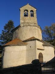 Eglise Notre-Dame-de-la-Merci - Català: Església de planta rodona de Santa Maria de Planès