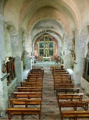 Restes du cloître - Deutsch: Romanische Abteikirche Saint-Génis-des-Fontaines, 12. Jh.