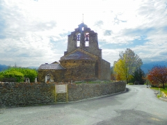 Eglise Sainte-Léocadie - Català:   Església de Santa Llocaia (Alta Cerdanya)