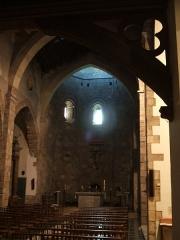 Eglise Notre-Dame des Anges - Català: Interior de l'església de Santa Maria la Mar (Rosselló)
