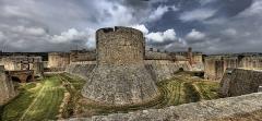 Château ou forteresse de Salses - Català: Panoràmica del Castell de Salses realitzada el 22/04/2011. Codi monument: PA00104129