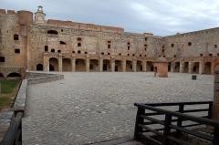 Château ou forteresse de Salses - Cour de la Forteresse de Salses