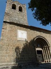 Eglise Sainte-Marie - Català: Església de Santa Maria (Serrallonga)