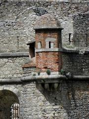 Remparts de la ville - Français:   Remparts de Villefranche-de-Conflent (66). Échauguette du bastion du Dauphin.