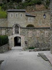 Remparts de la ville - Français:   Remparts de Villefranche-de-Conflent (66). Bastion de la boucherie.