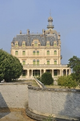 Domaine du château d'Aubiry - This building is indexed in the Base Mérimée, a database of architectural heritage maintained by the French Ministry of Culture, under the reference PA00104182 .