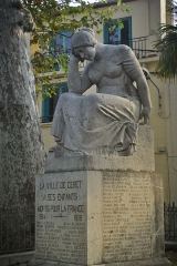 Monument aux morts - This building is indexed in the Base Mérimée, a database of architectural heritage maintained by the French Ministry of Culture,under the reference PA00104185 .