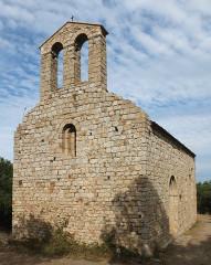 Chapelle Saint-Laurent-du-Mont - English: Romanesque chapel