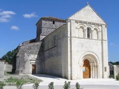 Eglise Saint-Pierre - Français:   église d\'Ambleville, Charente, France