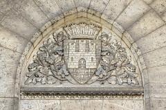 Hôtel de ville - Armes d'Angoulême au XIVe siècle (sous Philippe V Le Long):
