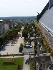 Hôtel de ville - Hôtel de ville d'Angoulême (Charentes, Poitou-Charentes, France).
