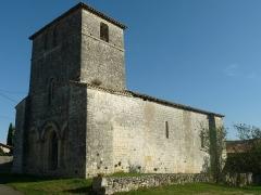 Eglise Saint-Cybard - Français:   église de Saint-Cybard, Blanzaguet-Saint-Cybard (16), France