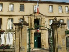 Ancien hôtel Dassier des Brosses - English: town hall