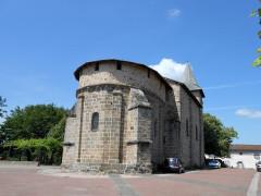 Eglise Saint-Etienne - Français:   Esse, Charente, France