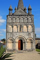 Eglise Saint-Martin - Deutsch: Genzac-la-Pallue, Fassade