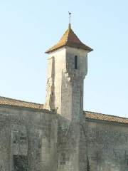 Eglise Saint-Pierre - English: church of Linars, Charente, SW France