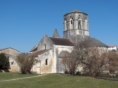 Eglise Saint-Hilaire - English: Church of Mouthiers-sur-Boëme - Charente - France - Europe