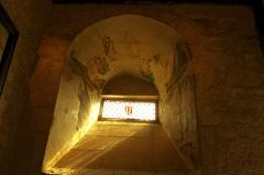Prieuré Saint-Jean-Baptiste - Français:   Prieuré de Ronsenac, Charente, France - Fresques du 14e siècle.