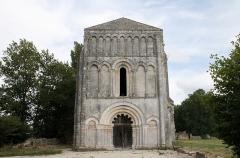 Eglise de Châtres - Français:   portail de l\'abbaye