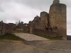 Ruines du château - Français:   CHÂTEAU DE SAINT GERMAIN DE CONFOLENS EN CHARENTE