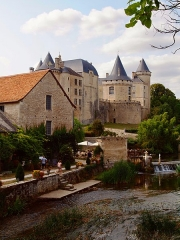 Château - This building is indexed in the Base Mérimée, a database of architectural heritage maintained by the French Ministry of Culture, under the reference PA00104534 .