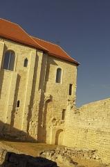 Château - L'ancienne chapelle du château de Villebois-Lavalette, Charente