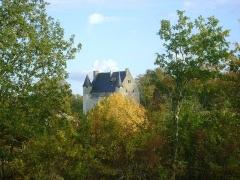 Château - Français:   Château de Vouzan, Charente. Vue du château.