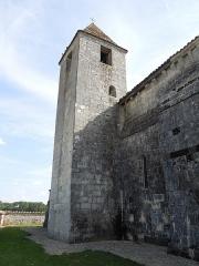 Eglise Saint-Eutrope - English: Agudelle, Église Saint-Eutrope, belltower