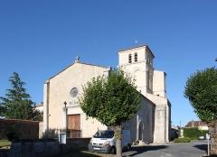 Eglise Saint-Martin - Français:   Église Saint-Martin, Fr-17-Archingeay.