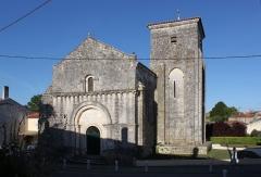 Eglise Sainte-Madeleine - Français:   Église Sainte-Madeleine, Fr-17-Beurlay.