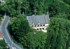 Château et ses dépendances -  Vue aérienne du château de Dampierre-sur-Boutonne.