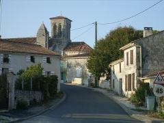 Eglise Saint-Pierre -  17810 Écurat, France