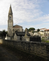 Eglise Notre-Dame - Français:   Église Notre-Dame-de-l\'Assomption de Fenioux (17).